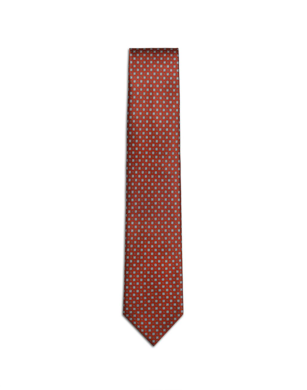 BRIONI Bordeaux Micro-Design Tie Tie [*** pickupInStoreShippingNotGuaranteed_info ***] f