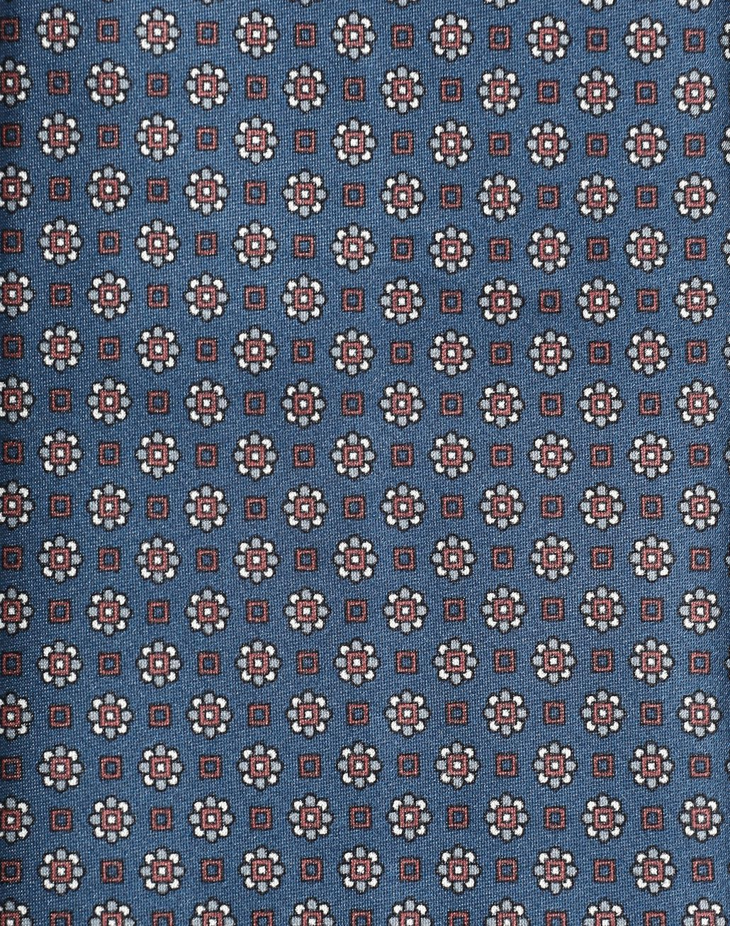 BRIONI Blaue Krawatte mit Micro-Muster Krawatte [*** pickupInStoreShippingNotGuaranteed_info ***] d