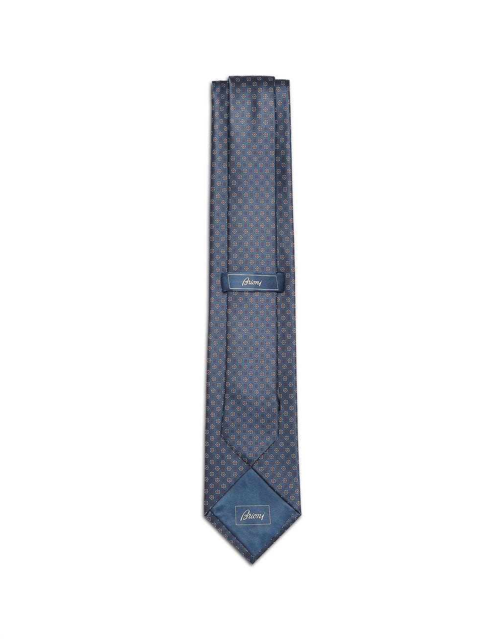 BRIONI Bluette Micro-Design Tie Tie [*** pickupInStoreShippingNotGuaranteed_info ***] r