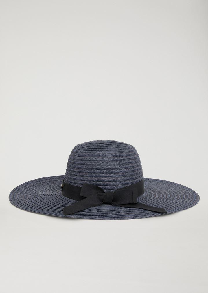 2f93582d502e3 WIDE-BRIMMED WOVEN HAT