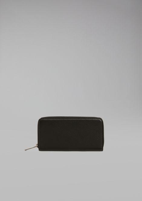 Horizontal deerskin wallet