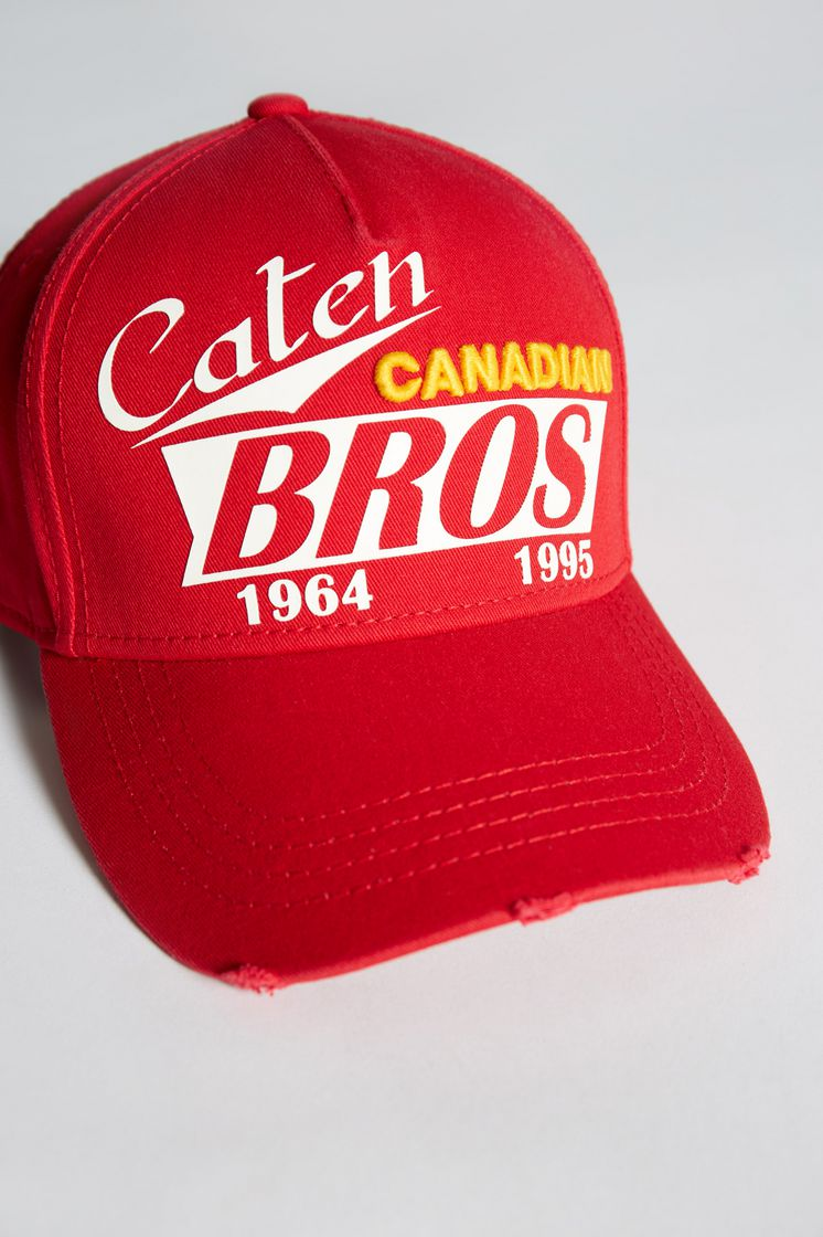 c2e3b6be76a Dsquared2 Caten Bros Baseball Cap - Hats for Men ...