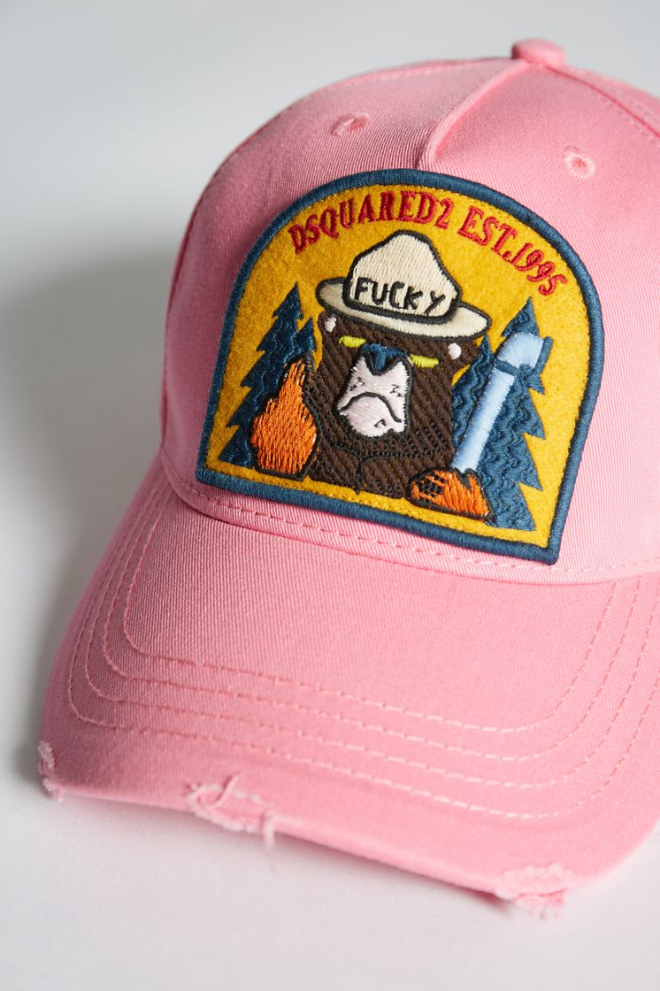 Dsquared2 Bear Patch Baseball Cap - Hats for ... 72a286201e8a