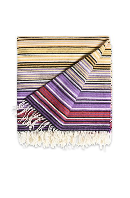 MISSONI HOME TAZIO THROW Light yellow E - Back