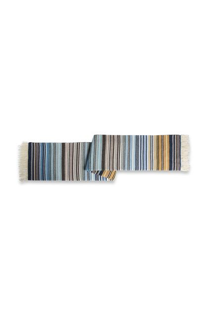 MISSONI HOME TAZIO THROW Sky blue E - Front