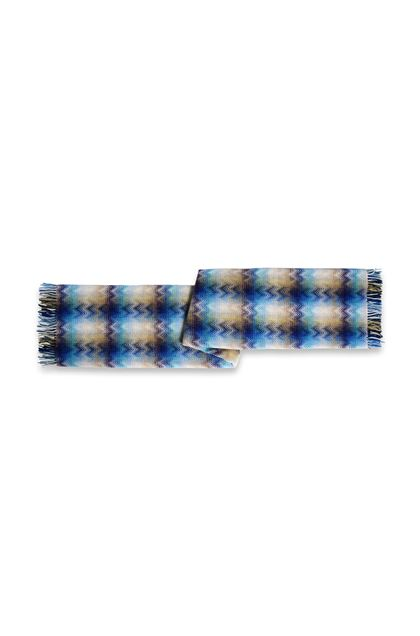 MISSONI HOME MONTGOMERY THROW Blue E - Front