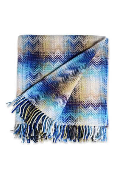 MISSONI HOME MONTGOMERY PLAID Blu E - Retro