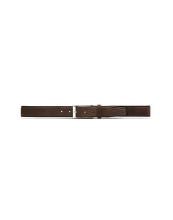 Chocolate Adjustable Belt in Velour