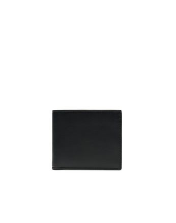 Blue and Black Slim Calfskin Wallet