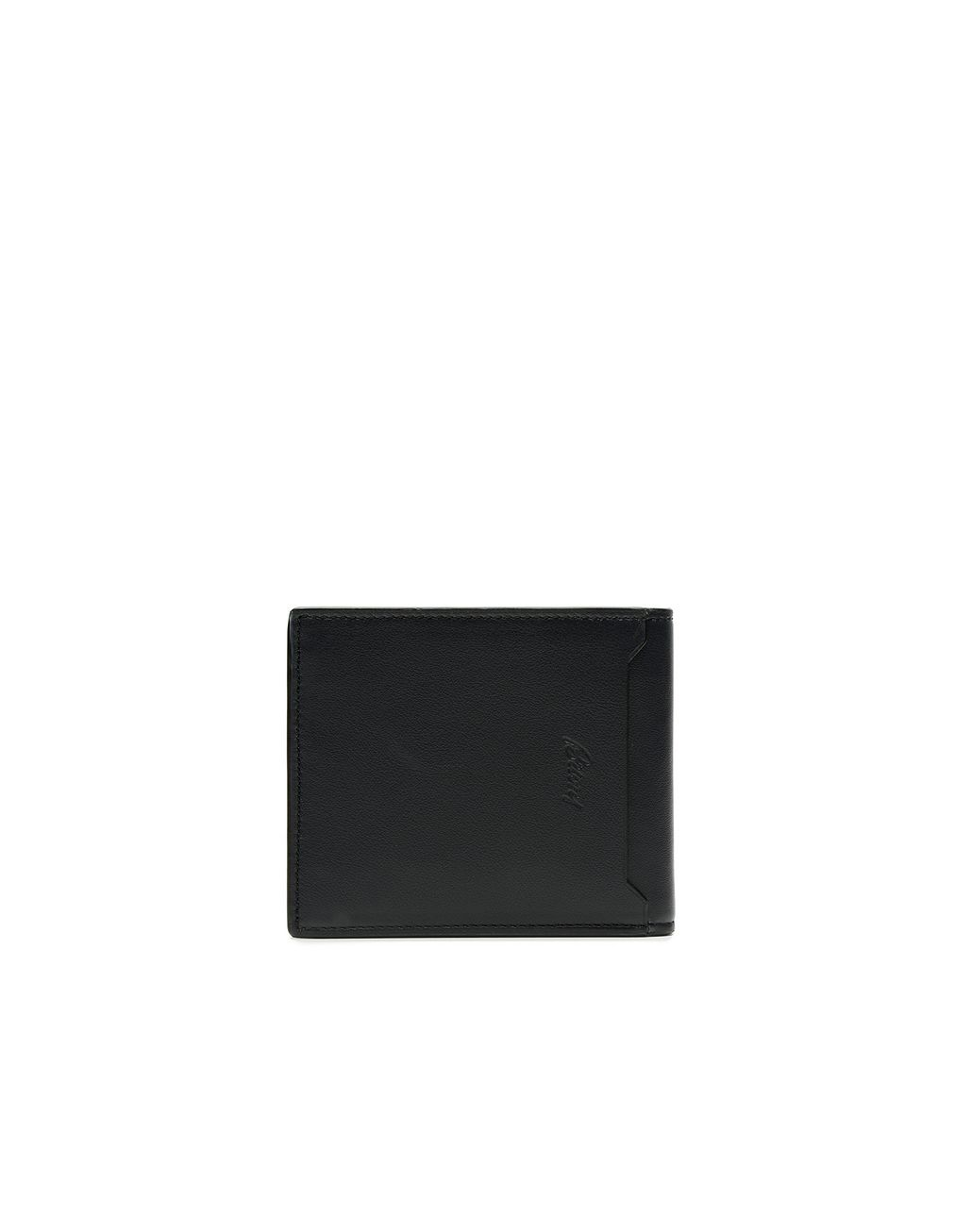 BRIONI Blue and Black Slim Calfskin Wallet Leather Goods [*** pickupInStoreShippingNotGuaranteed_info ***] d