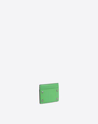 VALENTINO GARAVANI UOMO COIN PURSES & CARD CASES U Rockstud Card Case r
