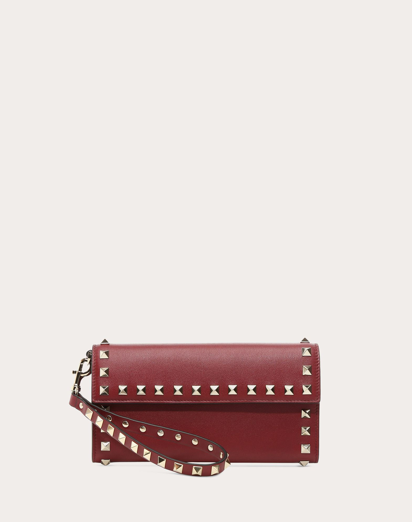 Valentino Striped Rockstud wallet 6NGPZf
