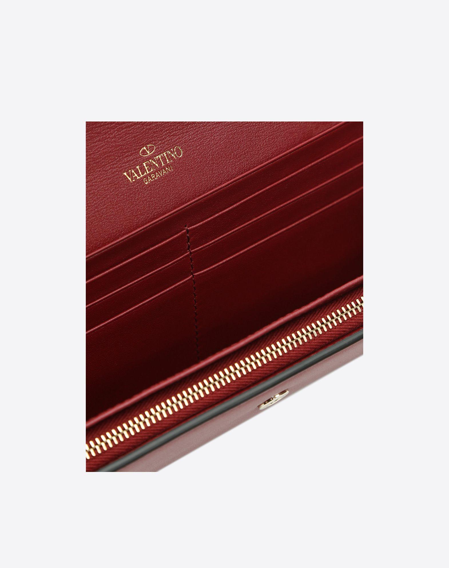 VALENTINO GARAVANI Rockstud Wallet FLAP WALLETS D e