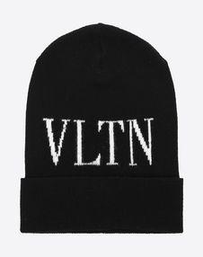 VALENTINO SETA Hat U VLTN knitted hat f