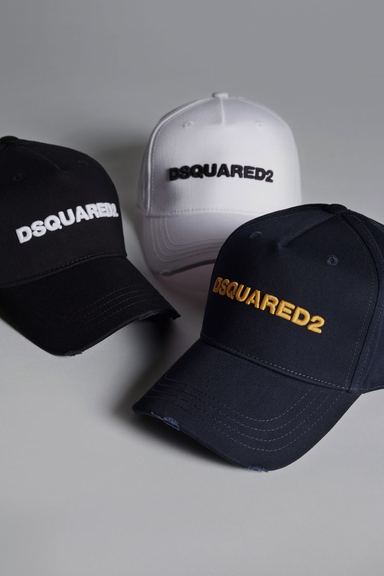 Dsquared2 D2 Baseball Cap - Hats for Unisex ... 8773a4a0b44