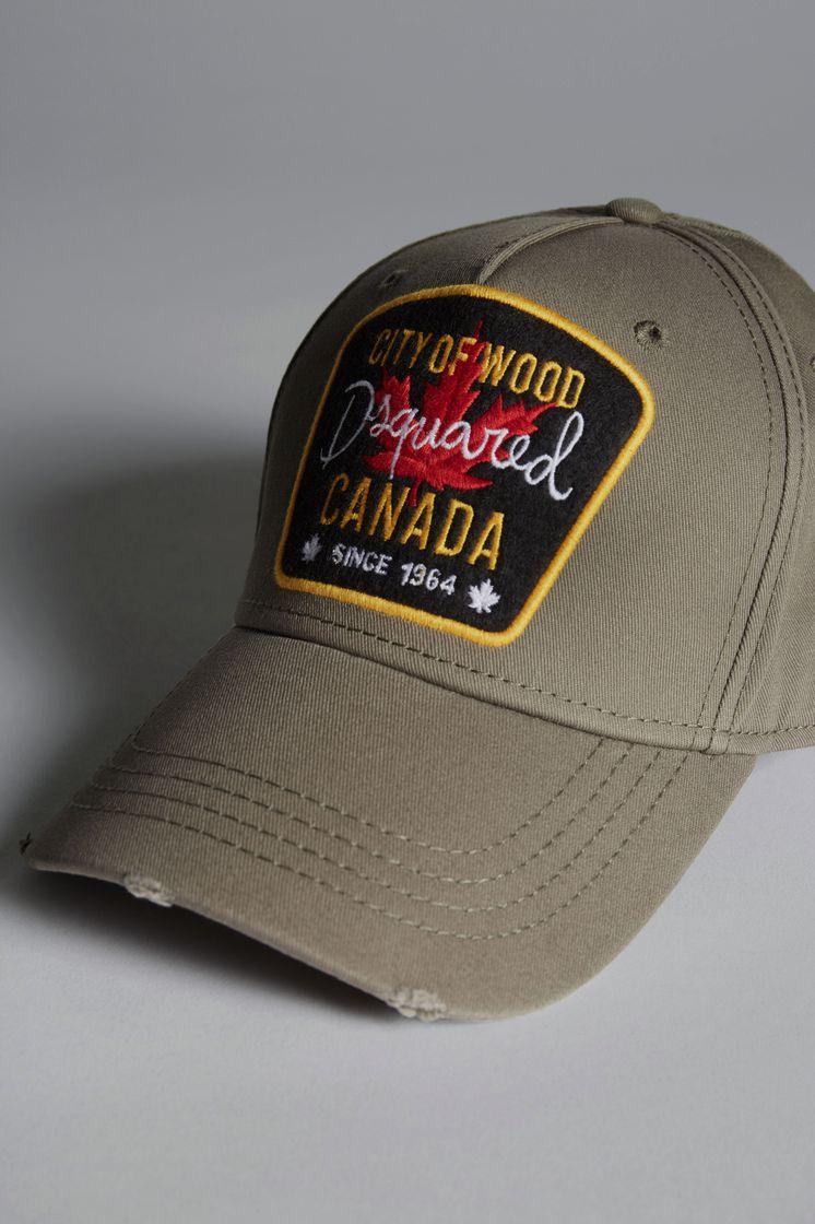 DSQUARED2 City Of Wood Baseball Cap Hat Man