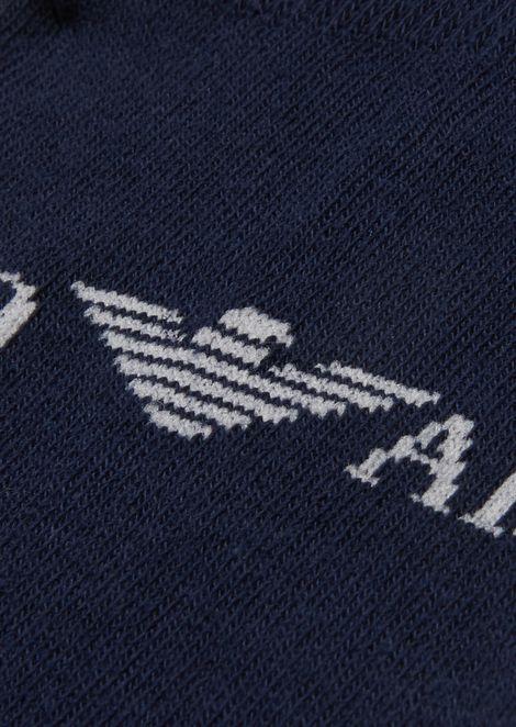 Three-pair set socks in light stretch cotton knit