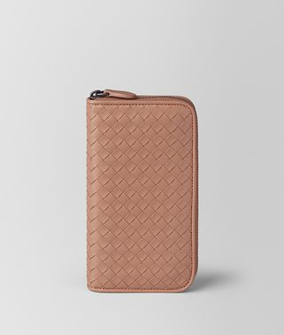 DAHLIA INTRECCIATO NAPPA ZIP-AROUND WALLET