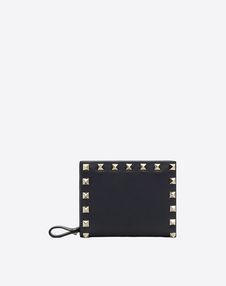 VALENTINO GARAVANI COMPACT WALLETS D Compact Rockstud Wallet f