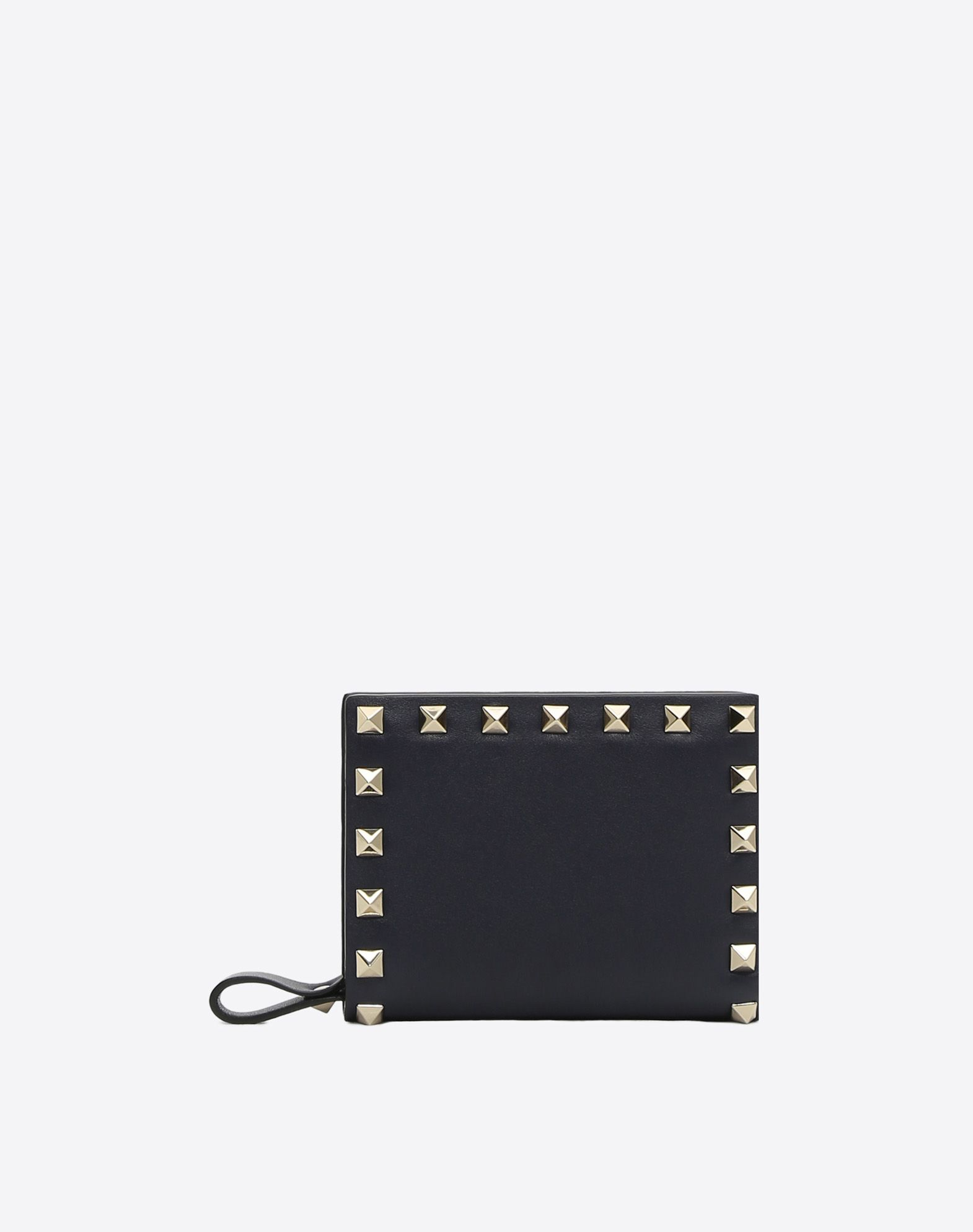 VALENTINO GARAVANI Compact Rockstud Wallet COMPACT WALLETS D f