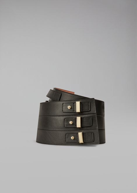 Cintura alta con fibbie