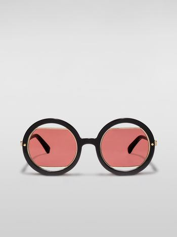 Marni Marni SUNRISE sunglasses in acetate black Woman