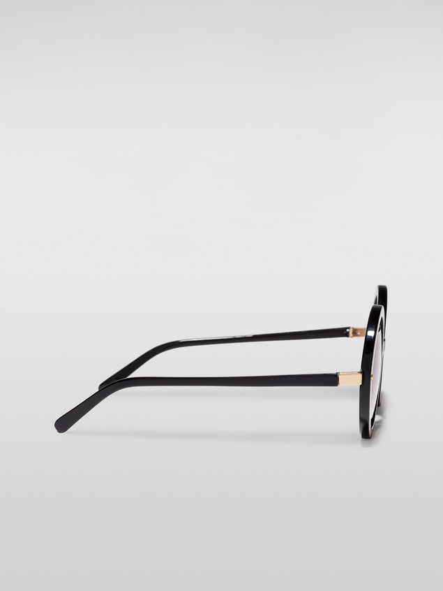 Marni Marni SUNRISE sunglasses in acetate black Woman - 3