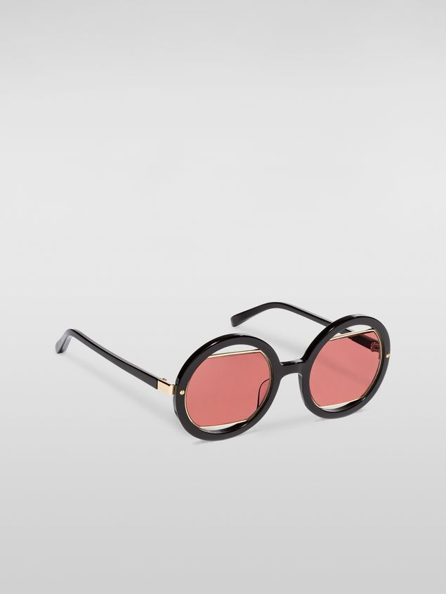 Marni Marni SUNRISE sunglasses in acetate black Woman - 2