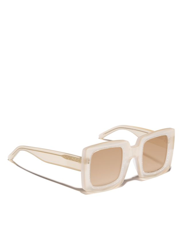 Marni Marni BLINK sunglasses in yellow acetate Woman - 2