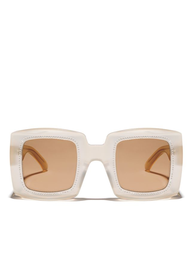 Marni Marni BLINK sunglasses in yellow acetate Woman - 1