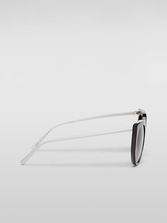 Marni Marni DAY sunglasses in acetate grey Woman - 3