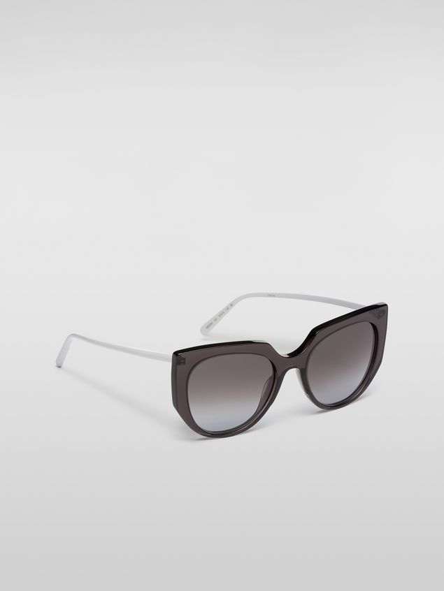 Marni Marni DAY sunglasses in acetate grey Woman - 2