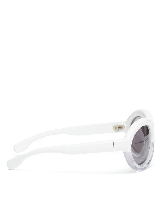 Marni Marni POP sunglasses in acetate white and crystal Woman - 3