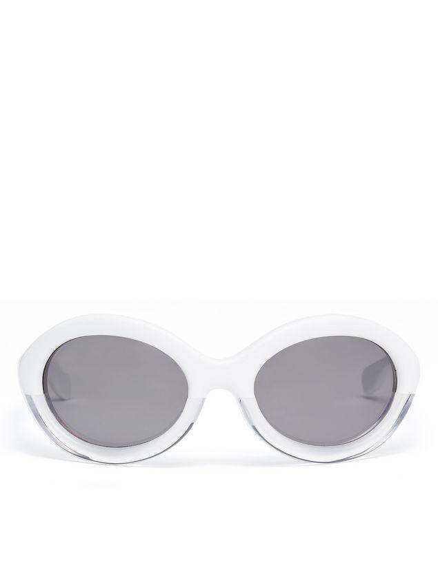 Marni Marni POP sunglasses in acetate white and crystal Woman - 1