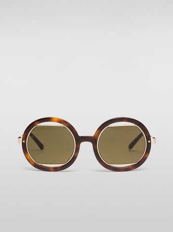 Marni Marni SUNRISE sunglasses in acetate Woman