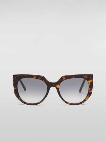 Marni Marni DAY sunglasses in acetate tortoise Woman