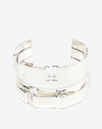 MAISON MARGIELA Bracelet Woman Brass cuff bracelet  f