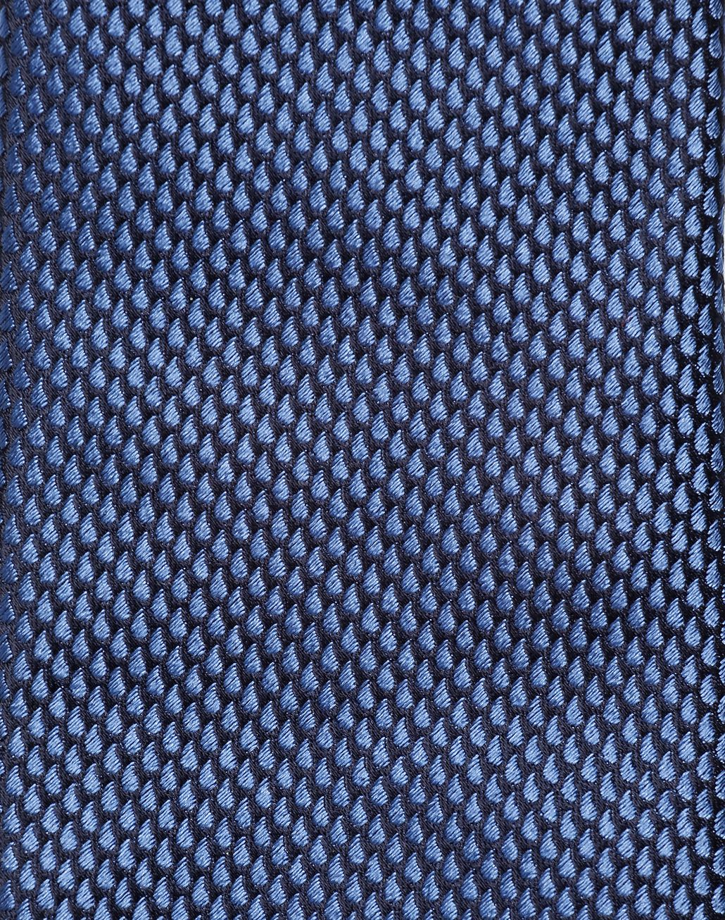 BRIONI Limited Edition Blue Micro-Design Tie Tie Man d