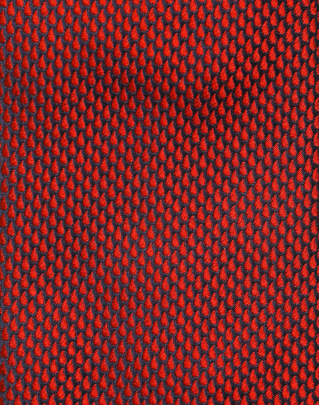 BRIONI Limited Edition Red Micro-Design Tie Tie Man d
