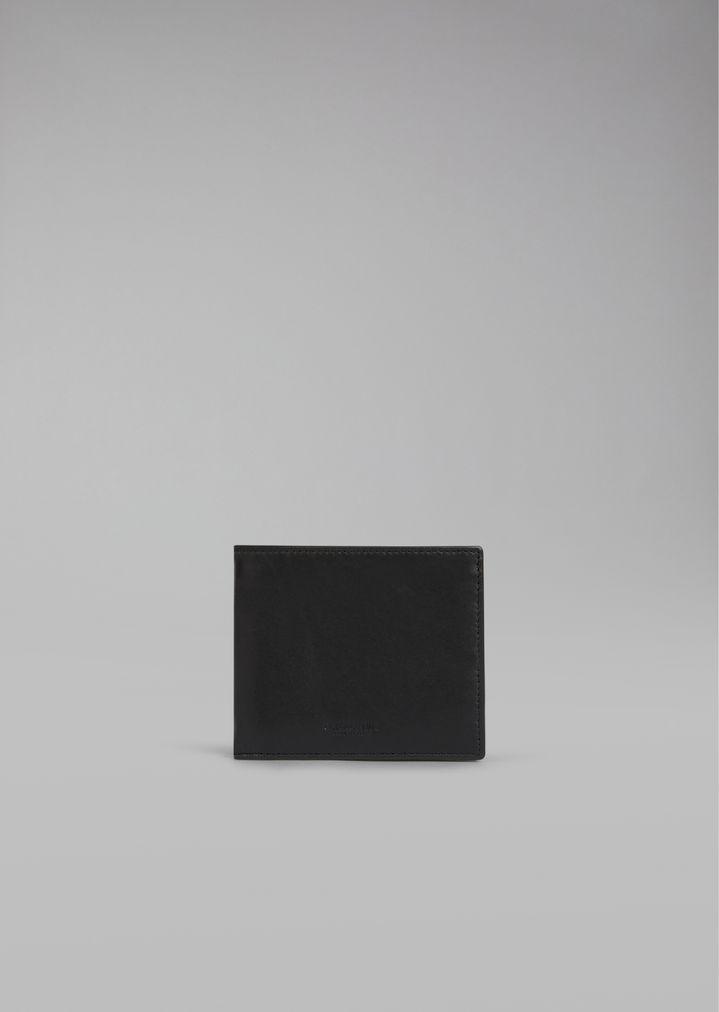 GIORGIO ARMANI Бумажник из гладкой кожи Бумажник Для Мужчин f 27fbd319dde