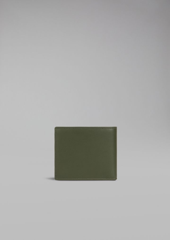 GIORGIO ARMANI Бумажник из гладкой кожи Бумажник Для Мужчин e 3e9212d98b7