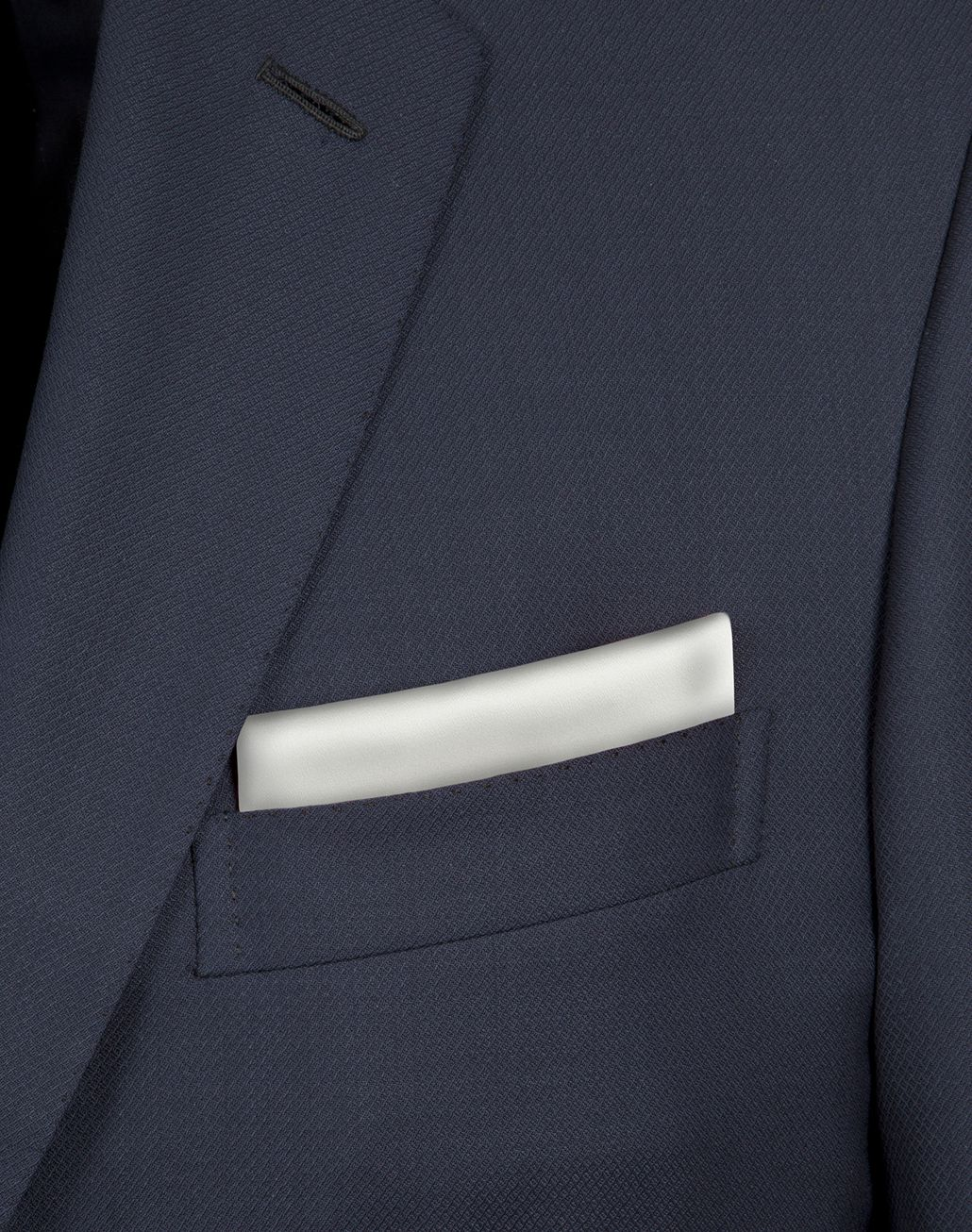 BRIONI White Hand-Rolled Pocket Square Tie & Pocket Square [*** pickupInStoreShippingNotGuaranteed_info ***] d