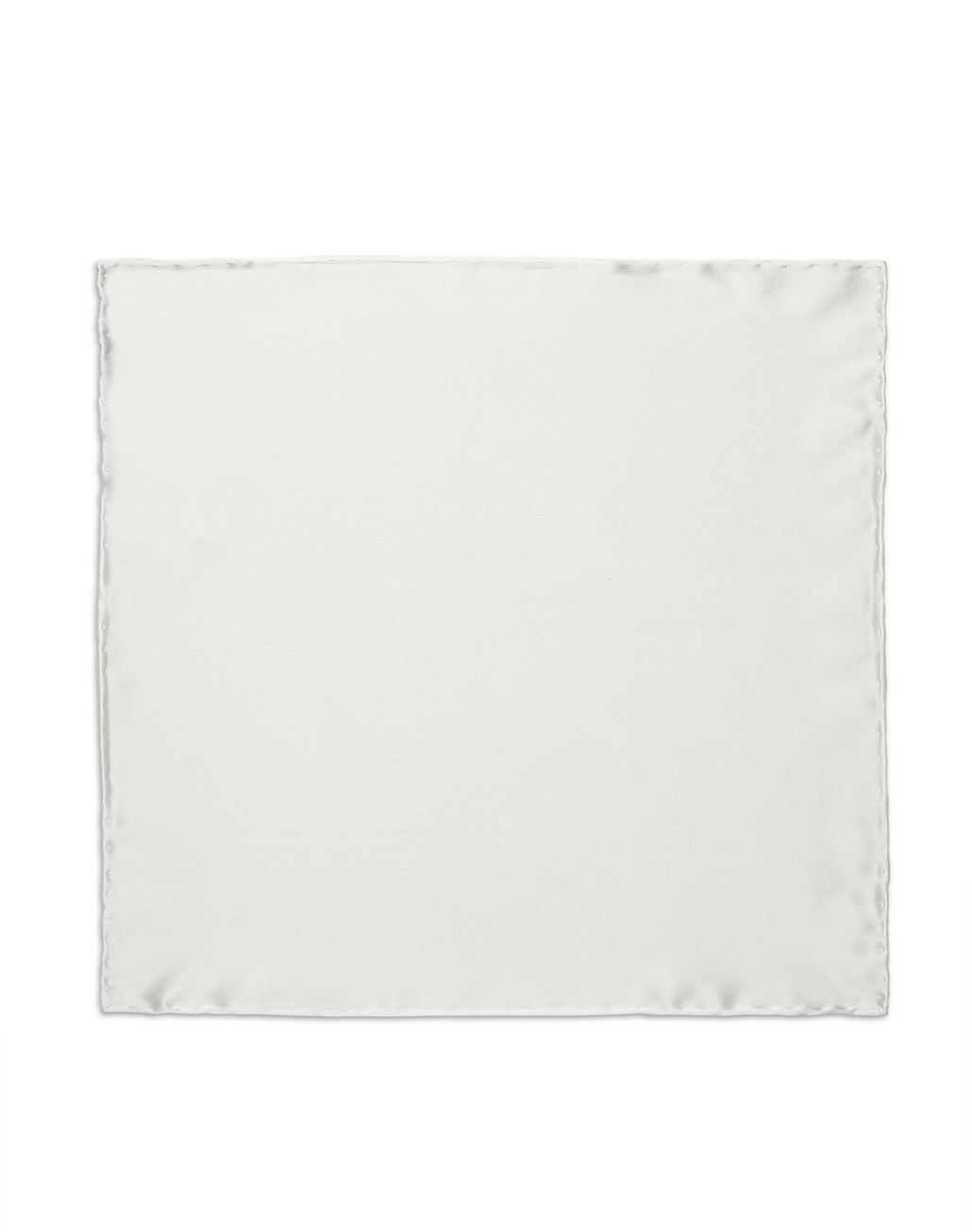 BRIONI White Hand-Rolled Pocket Square Tie & Pocket Square Man f
