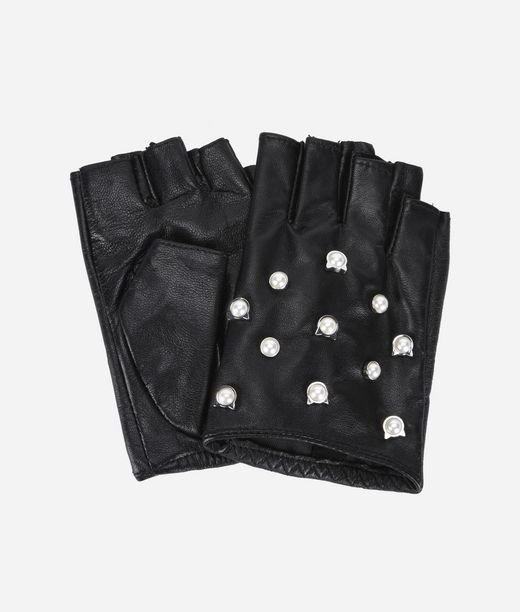 KARL LAGERFELD K/Cat Perlen-Handschuhe 12_f