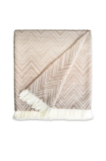 MISSONI HOME TIMMY THROW Dove grey E - Back