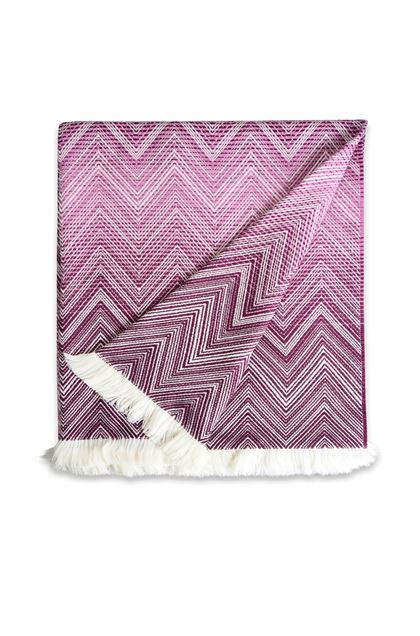 MISSONI HOME TIMMY THROW Mauve E - Back