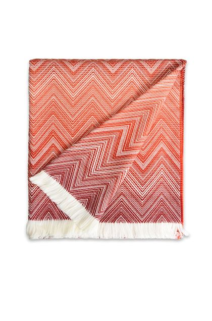 MISSONI HOME TIMMY PLAID Rouille E - Derrière