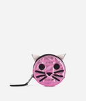 K/Kuilted Pink Cat Coin Purse