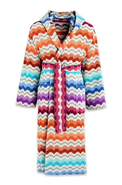 MISSONI HOME VASILIJ BATHROBE Turquoise E - Back