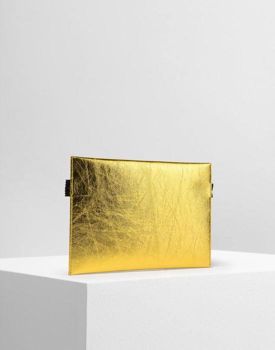 MM6 MAISON MARGIELA Metallic zip pouch Document holder Woman r